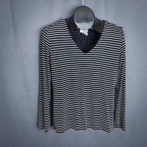 Chicos Travelers Womens Top Shirt Size 0 Small